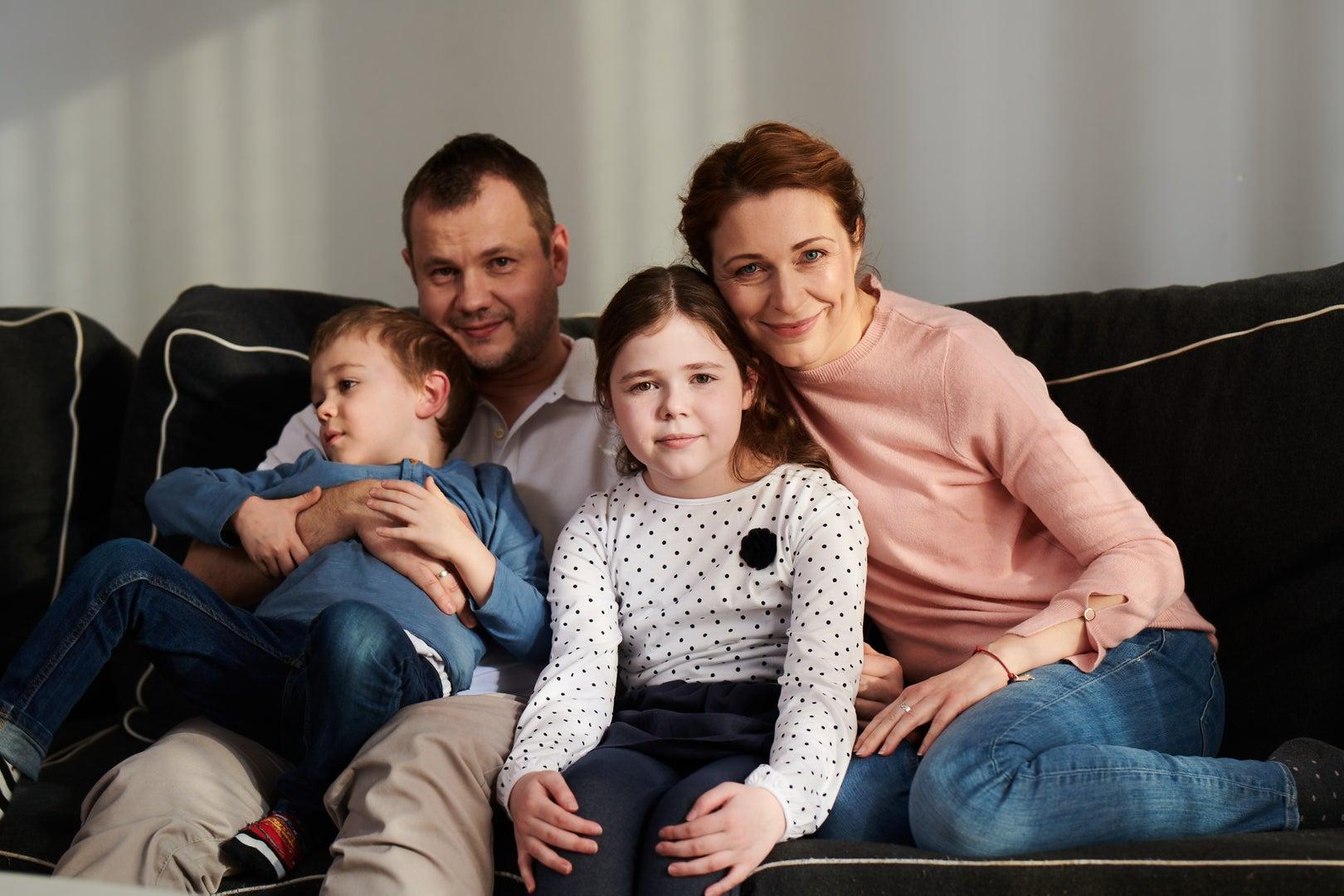 Małgosia, która wygrała z białaczką i jej rodzina