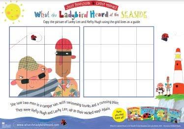 Ladybird Heard - Seaside Activity Sheets.JPG
