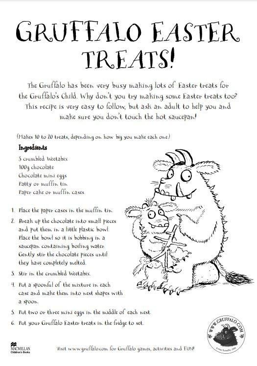 Gruffalo Easter Treats Recipe.JPG