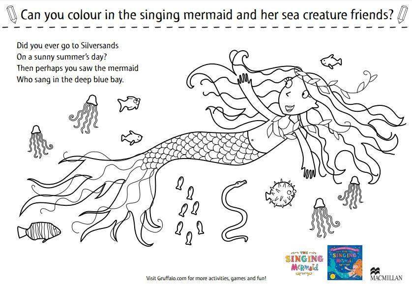 Singing mermaid - Colouring sheet.JPG