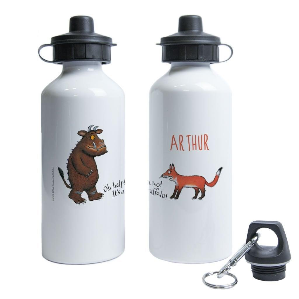 Gruffalo and Fox Personalised Water Bottle