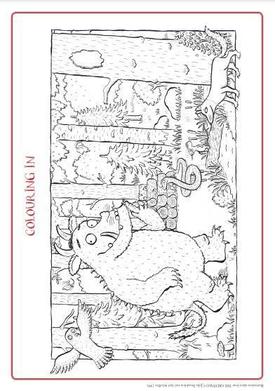 The Gruffalo - Colouring Sheet.JPG