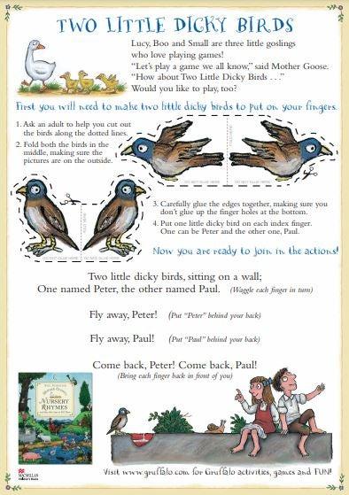 Two little Dicky Birds - Finger Puppets.JPG
