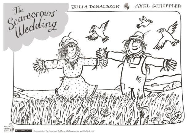Scarecrows Wedding - Colouring sheet.JPG