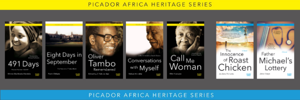 Picador Africa Heritage Series banner