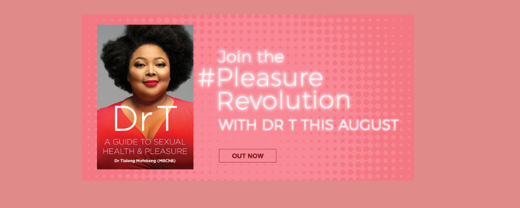 Dr T book cover - Join the #PleasureRevolution with Dr T this August