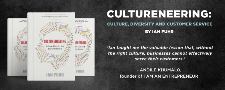 Virtual book launch, Cultureneering by Ian Fuhr.