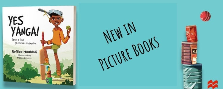 Cover of Yes Yanga of the left - New in Picture Books blog title text