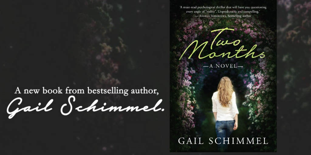 A new book from bestselling author Gail Schimmel with a picture of the jacket cover