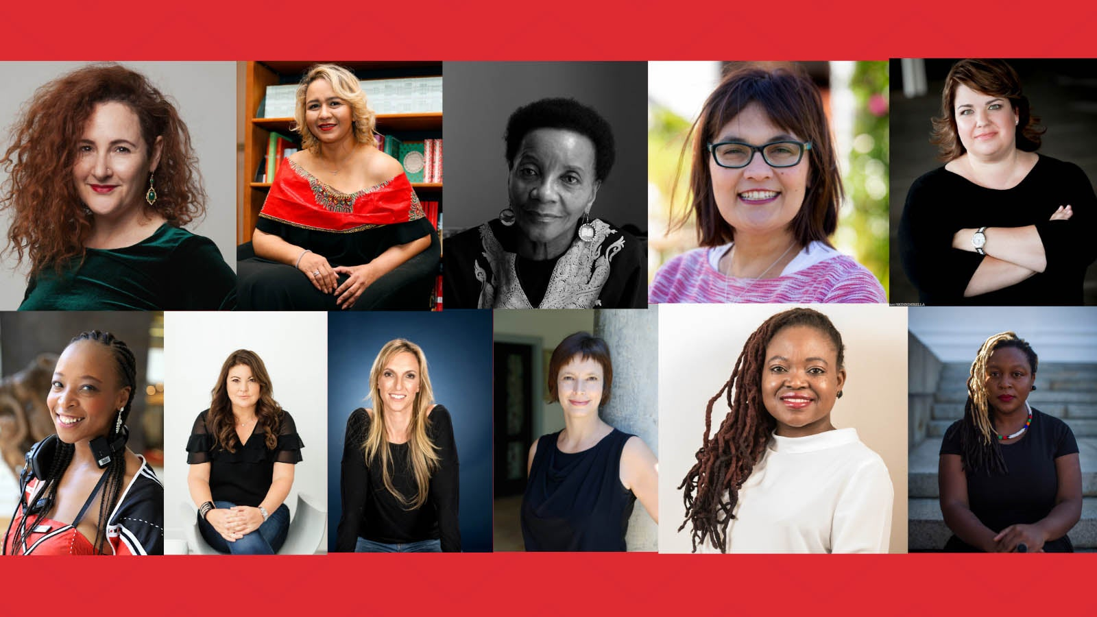 Collage of Women's Authors