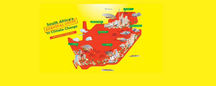Map of South Africa - South Africa's Survival Guide to Climate Change