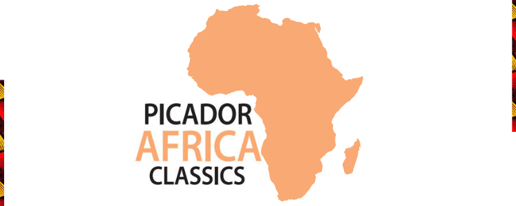 A map of Africa with the text 'Picador Africa Classics'
