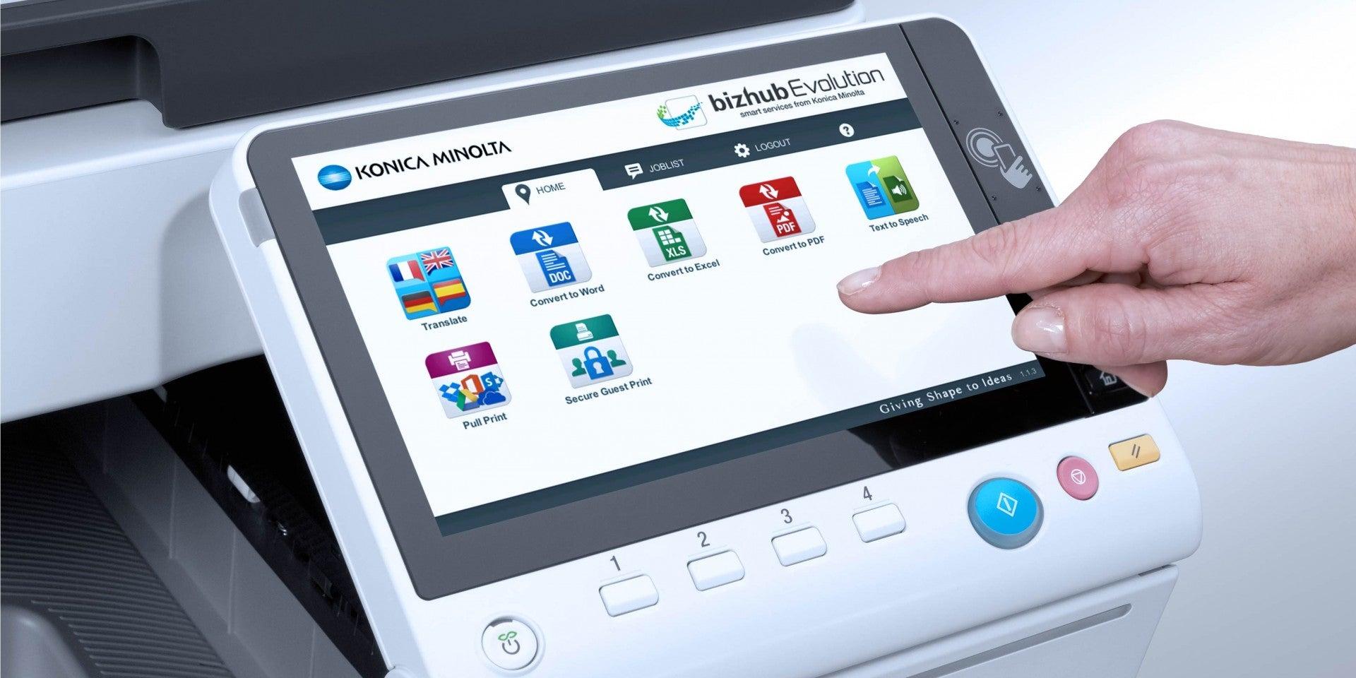 Konica Minolta запускає Cloud Printing Service щоби керувати усім середовищем друку своїх клієнтів