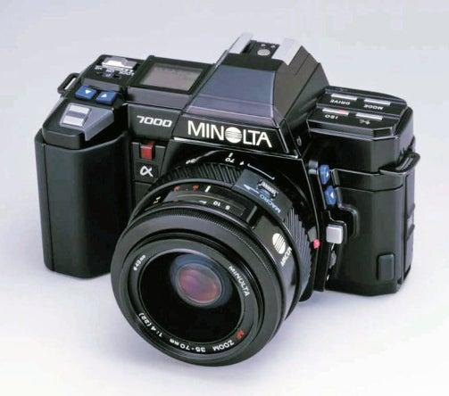 Камера Minolta 7000
