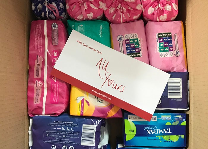 All Yours period box