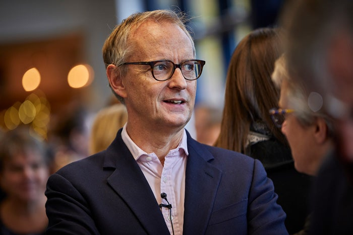 A headshot of CEO, Mark Washer
