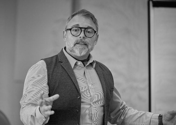 Jon Upchurch presenting