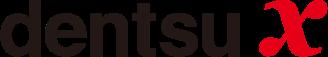 Dentsu x Logo