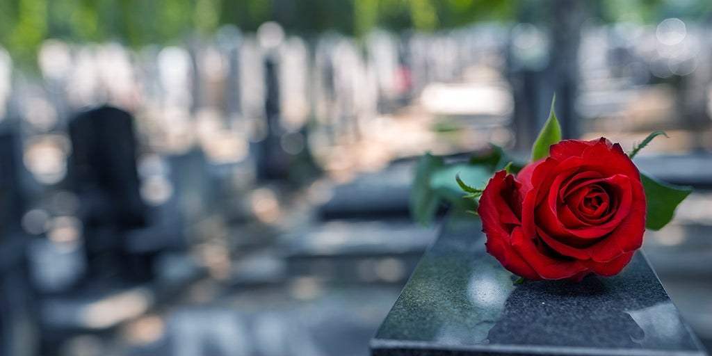 the grave reality of dying