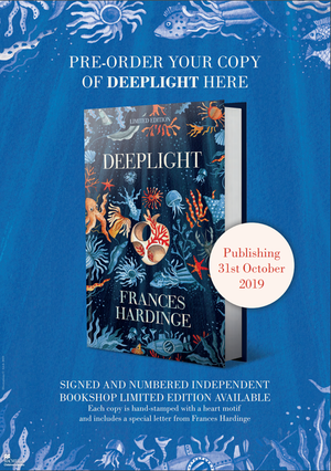 Deeplight by Frances Hardinge Book - Text: Pre-order your copy of Deeplight here