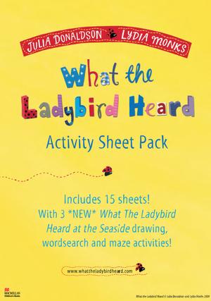 What the Ladybird Heard Activity Sheet Pack