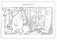 The Gruffalo Colouring Sheet