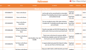 Thumbnail image of Halloween Order Form