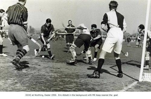 Hockey History - OCHC at Worthing for easter hockey festival - 9 April 1950