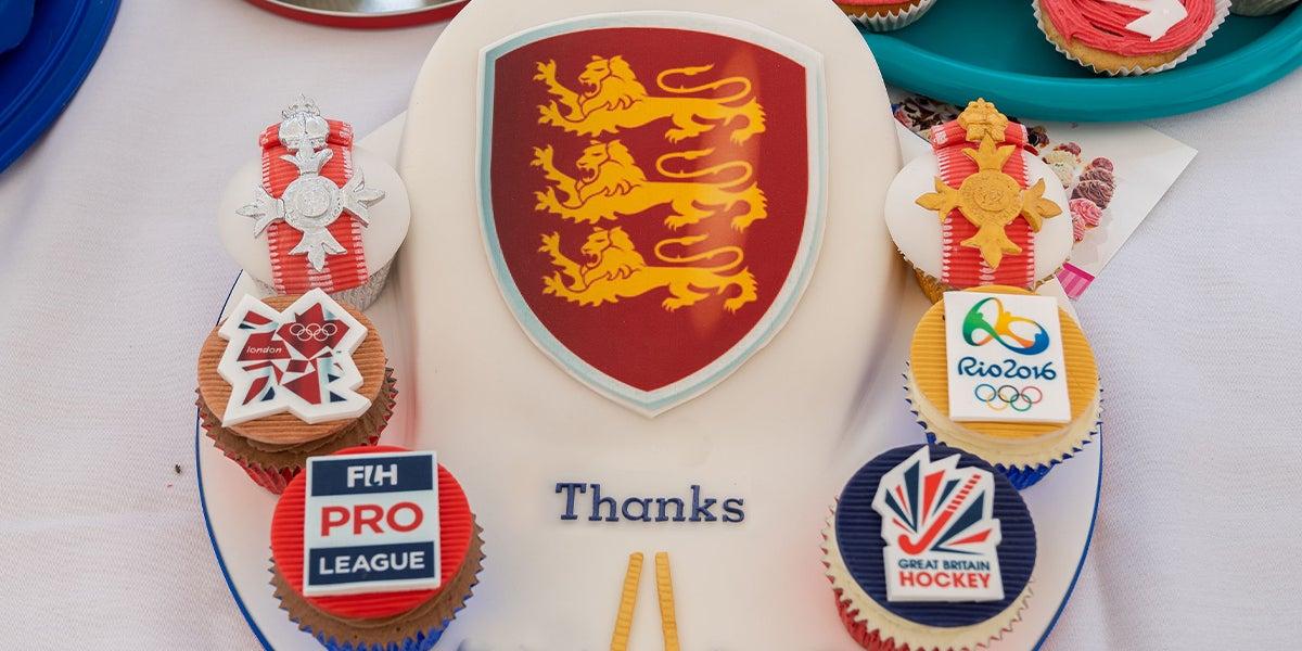 Thanks - England Hockey Cakes