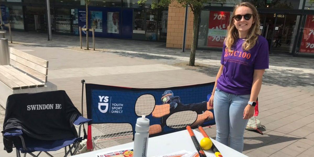 Swindon Hockey Club Volunteer - Promoting hockey in the community