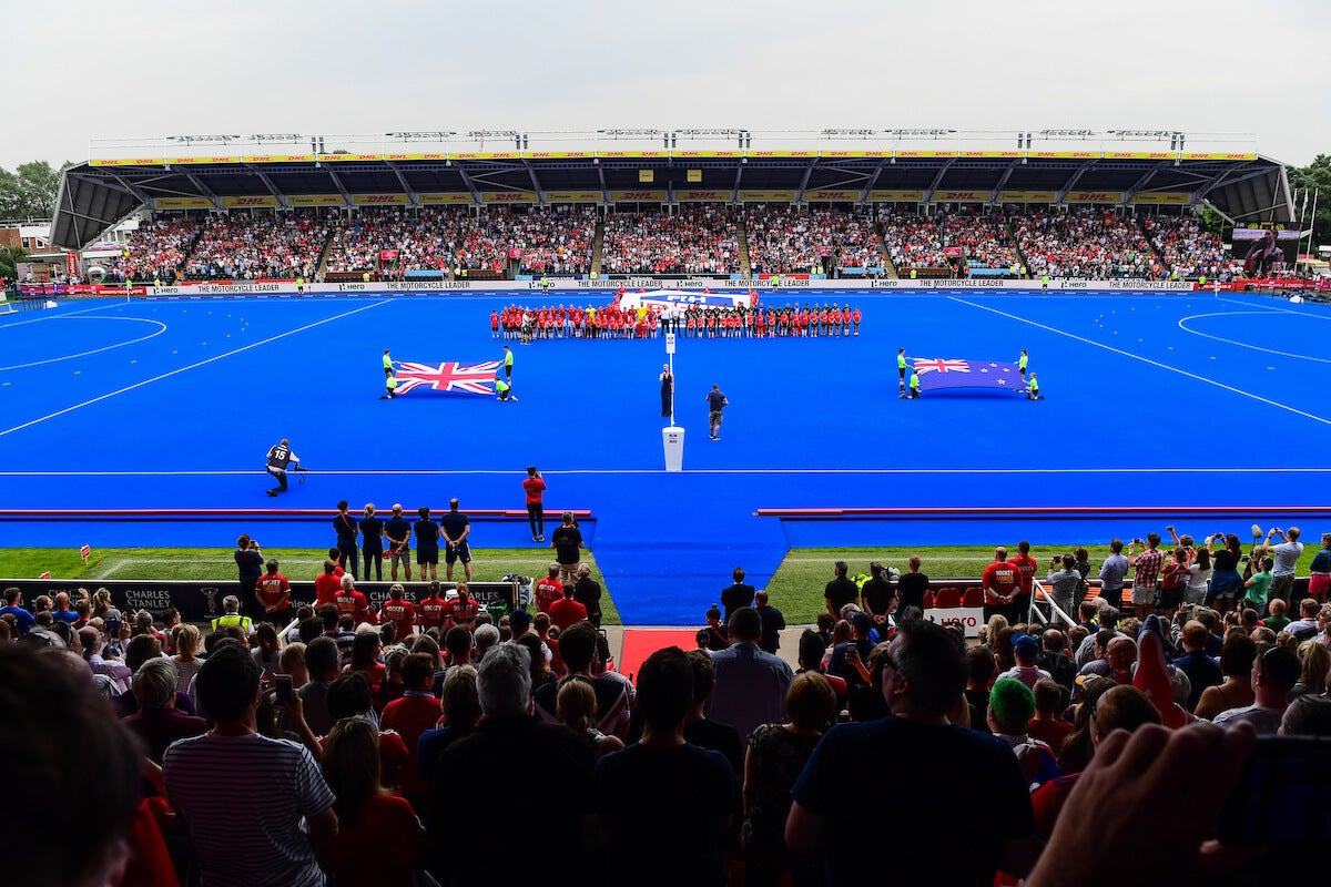 Twickenham Stoop - Big Stadium hockey at Home of the Harlequins