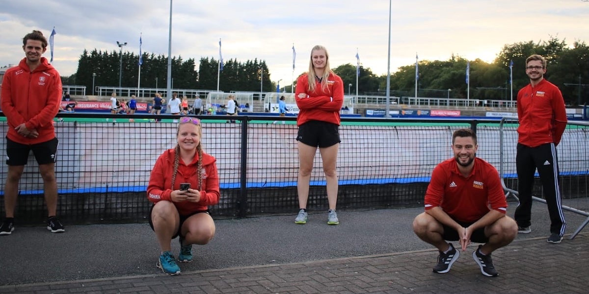 England Hockey staff picture during COVID-19
