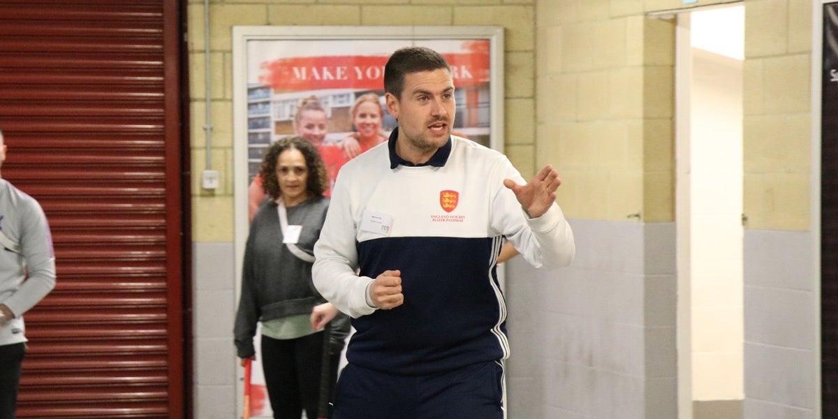 Matt Way, England Hockey Coach developer