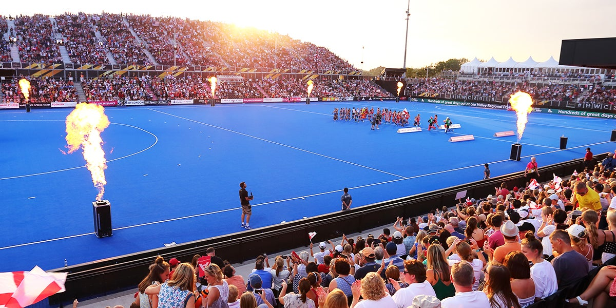 Lee Valley Hockey and Tennis Centre - Womens Hockey World Cup