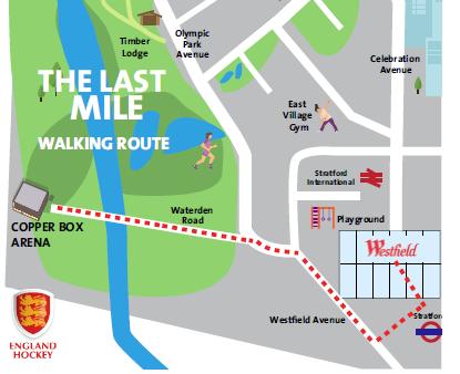 Copper Box Walking Route