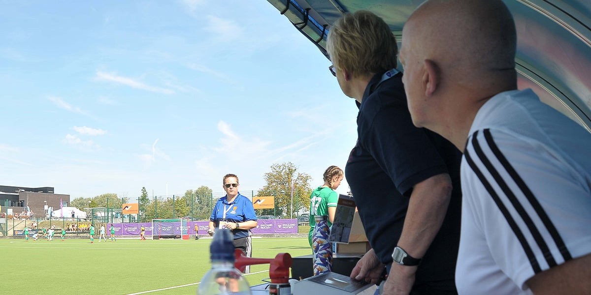 Technical Official at Hockey Futures Cup 2019
