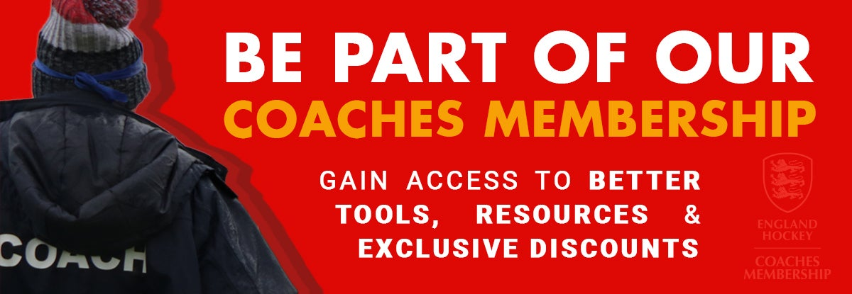 England Hockey Become a coach member, Coaching Membership
