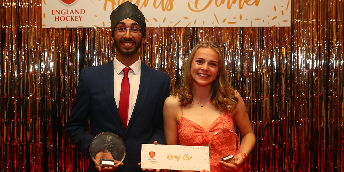 Young Leaders - Rising Star Award at the England Hockey Awards