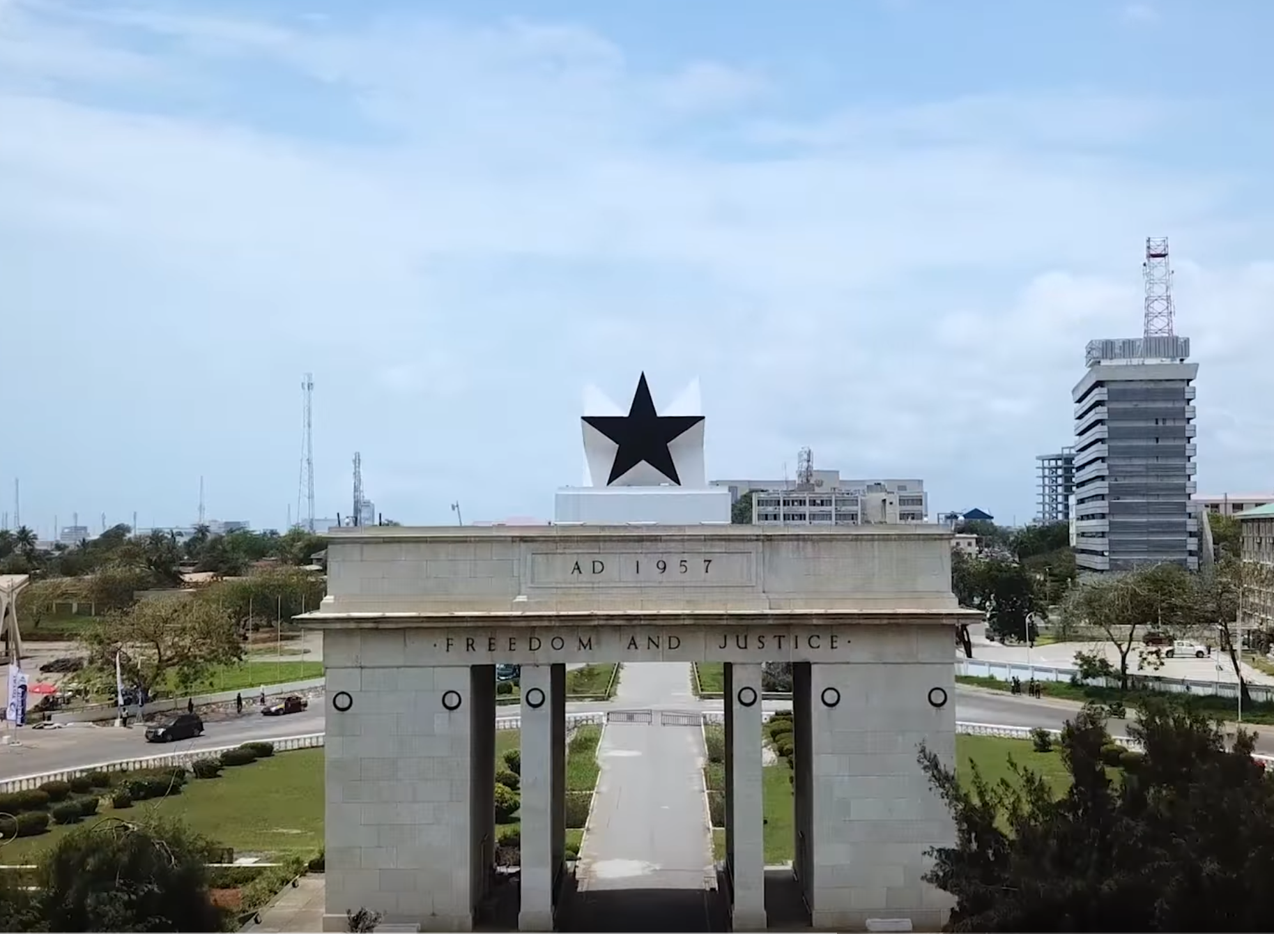 Monument in Accra