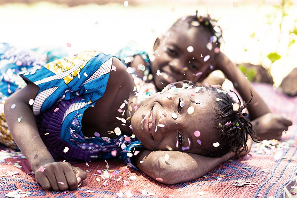 Young African girls. Credit: Shutterstock.