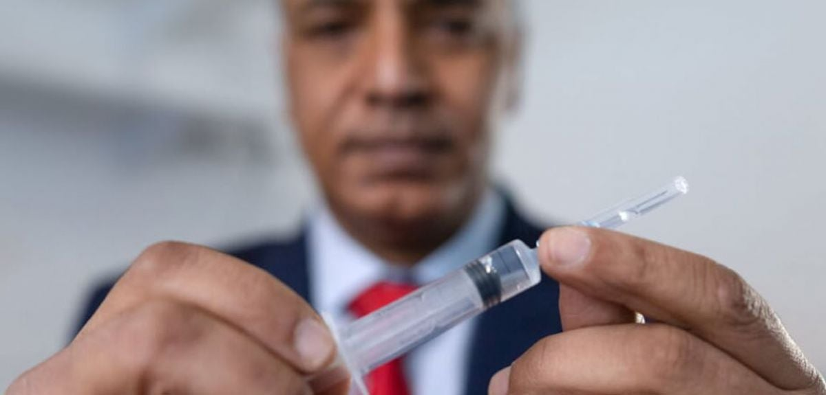 Dr. Shabir Madhi, Professor of Vaccinology at Wits University and Director of the South Africa Medical Research Council (SAMRC) Vaccines and Infectious Diseases Analytics Research Unit (VIDA) who leads the South African Ox1Cov-19 Vaccine VIDA-Trial.