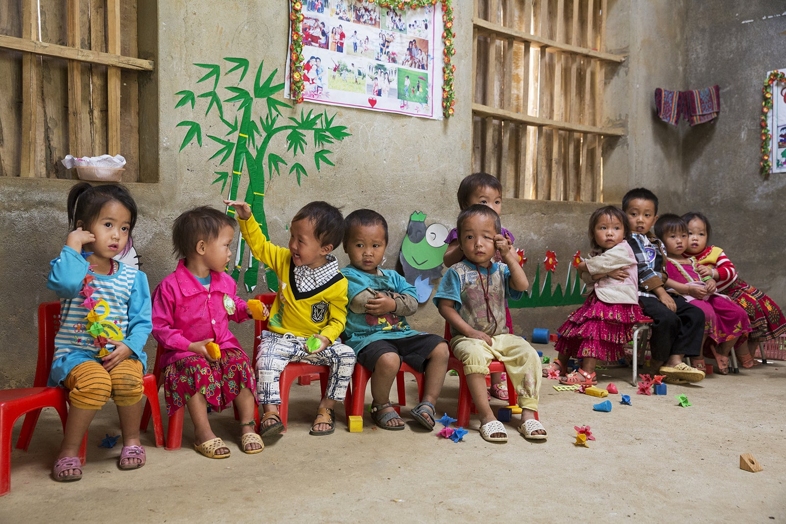 Children in Vietnam.