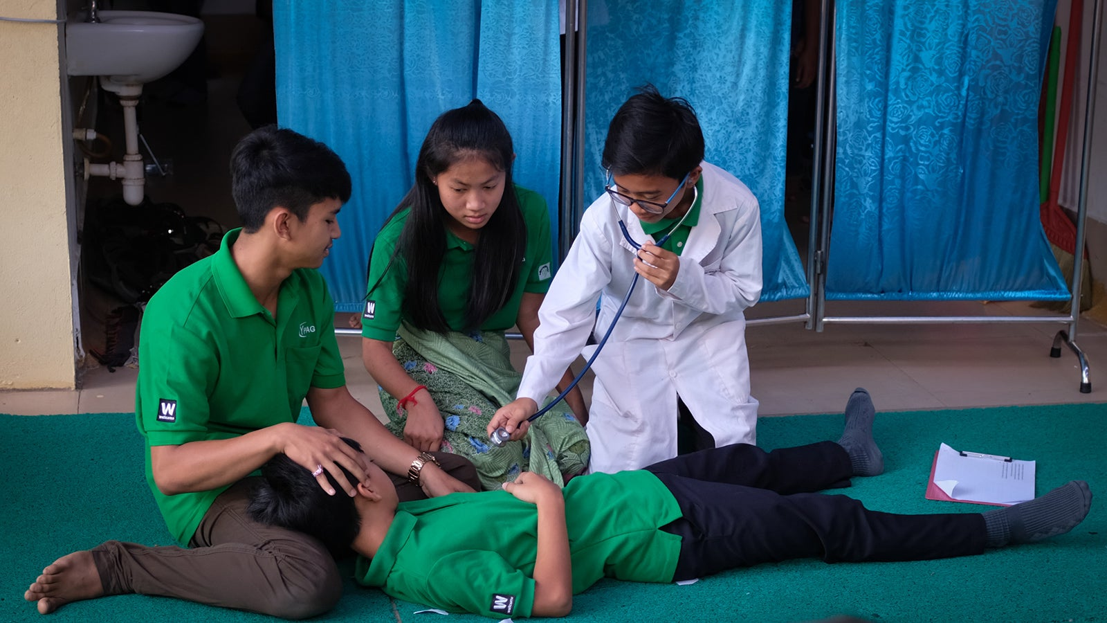 Giving Cambodian children a voice in healthcare and research