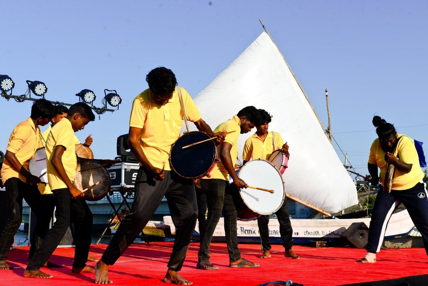 The Many Lives of Land - Live Performance at the Festival of the Commons - Credit: Chennai Kalai Theru Vizha