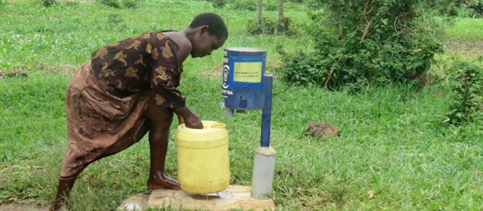 Water collection, Kenya.
