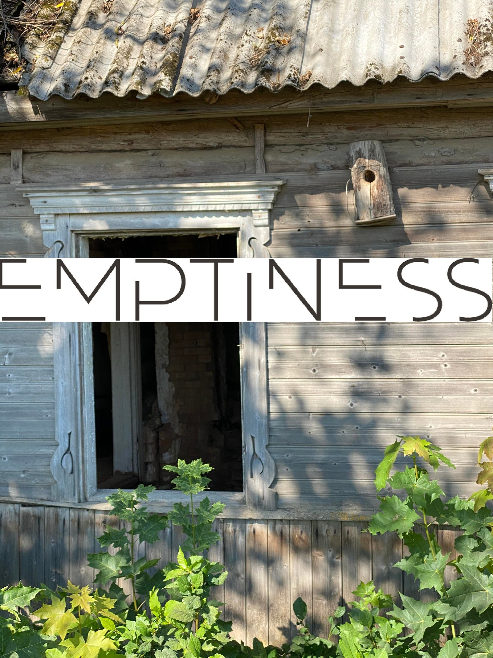 Window of an abandoned house in rural Latvia. Credit: Dace Dzenovska.