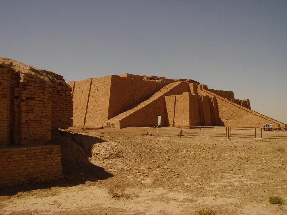 Ziggurat at Ur, Southern Iraq.