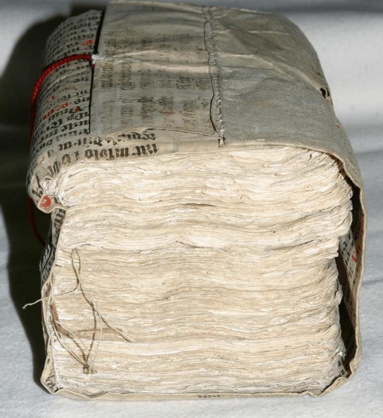 Kloster Lüne, Cover Manuscript 15.