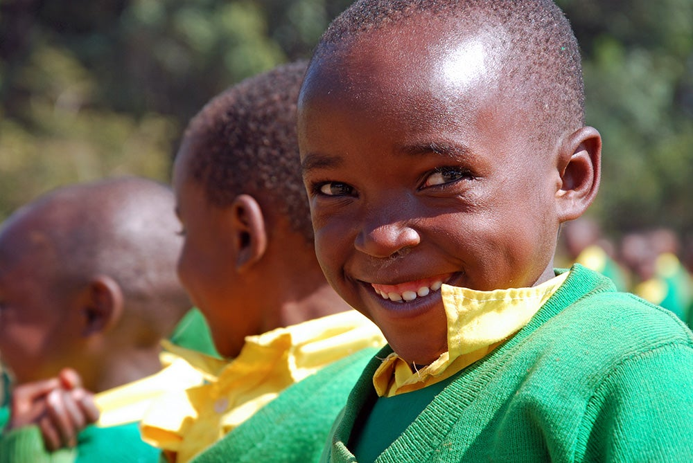 Children in Malawi.