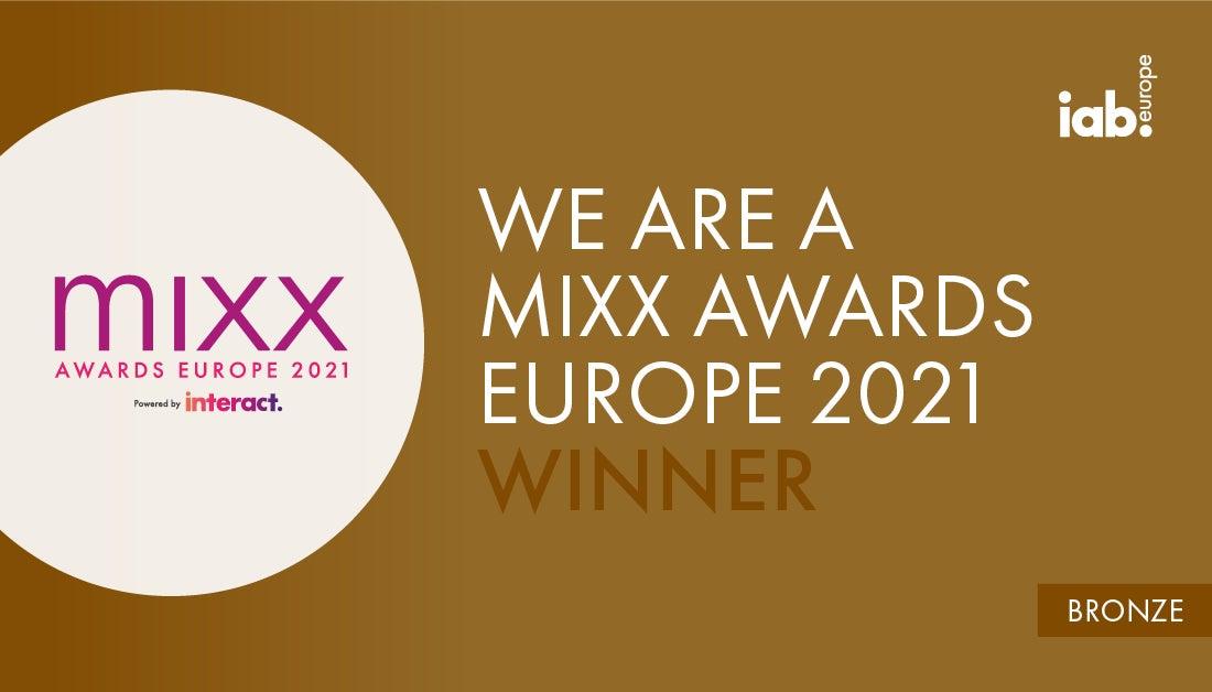 Bronze au IAB Europe 2021